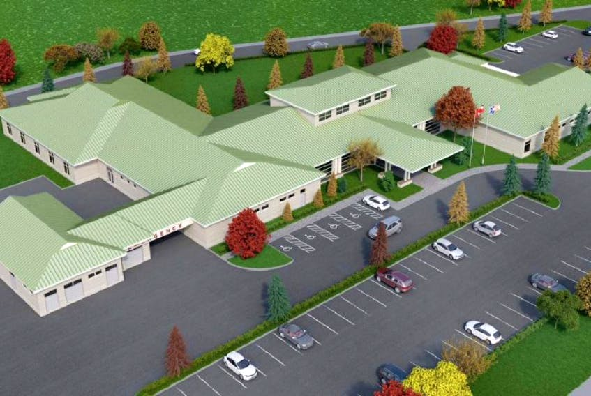 A good representation of what the new Green Bay Community Health Care Centre will look like is in its final stage. Tenders for Phase 2 are being called towards the end of the summer/ fall.
