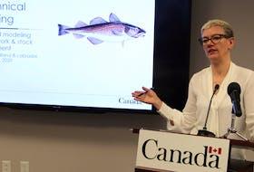 Karen Dwyer, northern cod scientist for DFO, Newfoundland region.