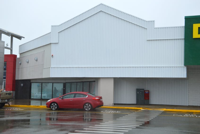 Shown is the location for the new Old Navy store at the Mayflower Mall in Sydney. The popular clothing store was scheduled to open in the fall, however, due to COVID-19, the opening has been pushed to spring 2021. JEREMY FRASER/CAPE BRETON POST