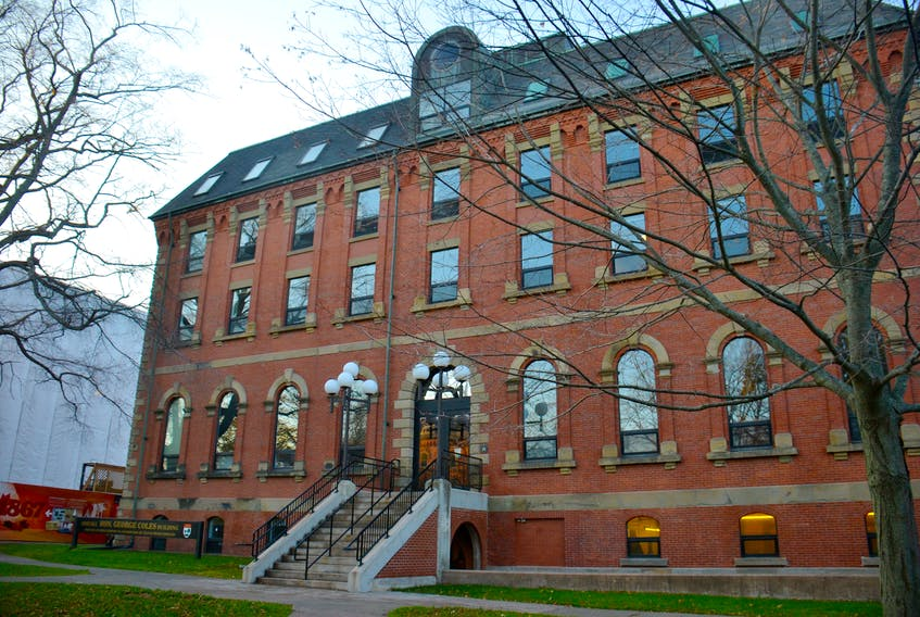 The Coles Building. New recommendations could allow for a hybrid virtual sitting of the P.E.I. legislature.