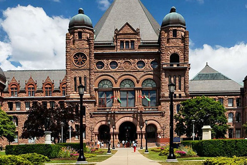 File: The Ontario legislature.