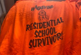 Orange Shirt Day is a day to honour residential school survivors. Annually on Sept. 30, people across the country wear an orange shirt. Many take time to educate others about the dark history of the residential schools. OSCAR BAKER III/CAPE BRETON POST