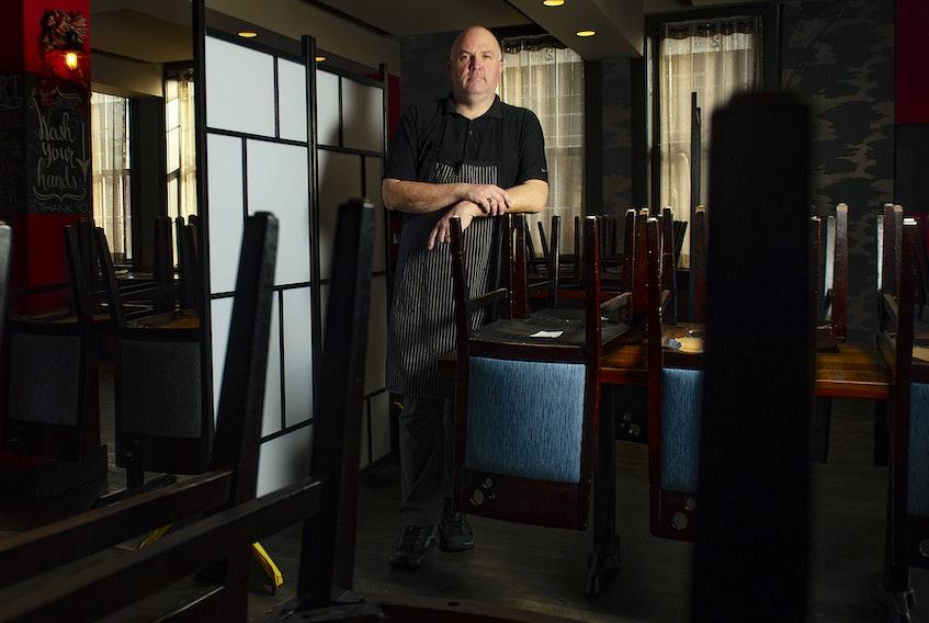 Chef Craig Flinn at his Two Doors Down restaurant on Barrington St. on Tuesday, Dec. 22, 2020. Ryan Taplin - The Chronicle Herald