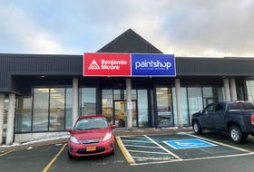 This new Paint Shop location next to Cohen's Home Furnishings on Kenmount Road in St. John's is due to open in mid-February. — Contributed