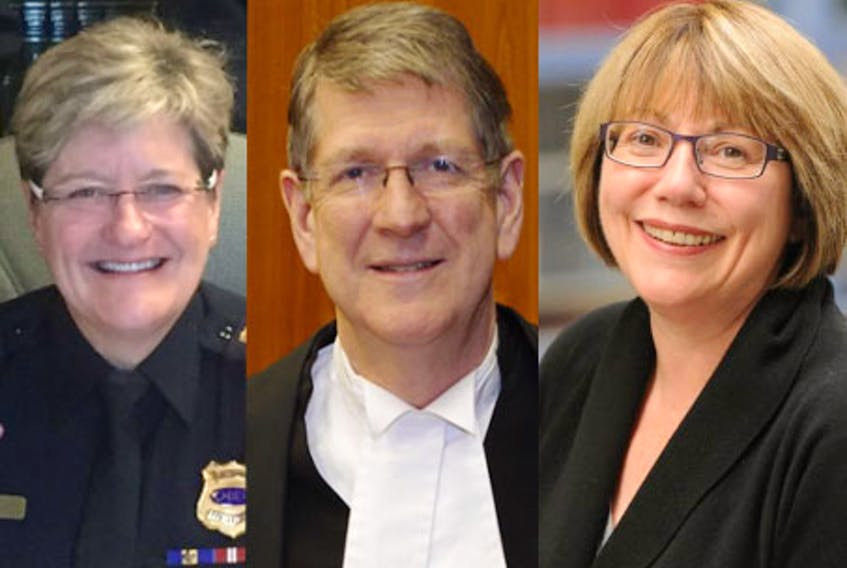 Former Fredericton police chief Leanne Fitch, Michael MacDonald, former chief justice of Nova Scotia, and Anne McLellan, a former longtime federal cabinet minister and chair of the federal cannabis legalization task force, have been appointed to conduct the independent review into the April 2020 mass shooting in central Nova Scotia. - Twitter, Contributed, Danny Abriel