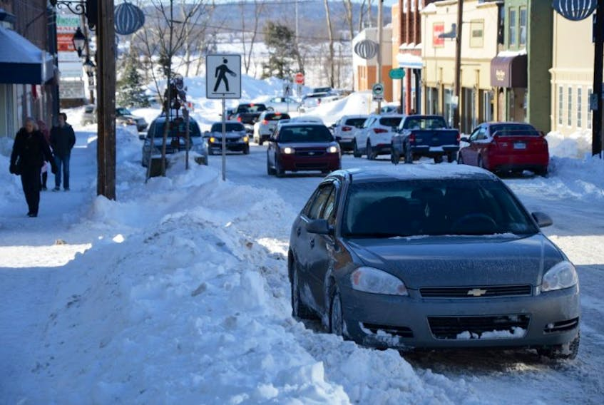 The RCMP and Windsor Fire Department are asking motorists to leave room for emergency vehicles to pass if parking along the side of a road that is narrower than usual because of excess snow.