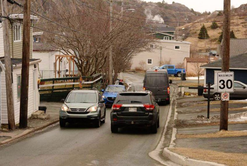 St. John's Coun. Shawn Skinner says something needs to be done about the traffic and parking situation in Quidi Vidi Village. — FILE PHOTO