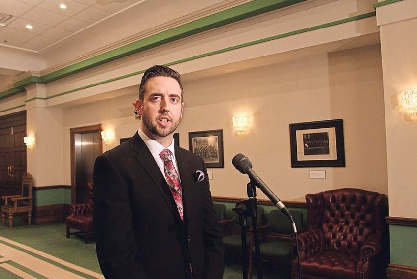 Andrew Parsons was appointed to Queen's Counsel Friday.
