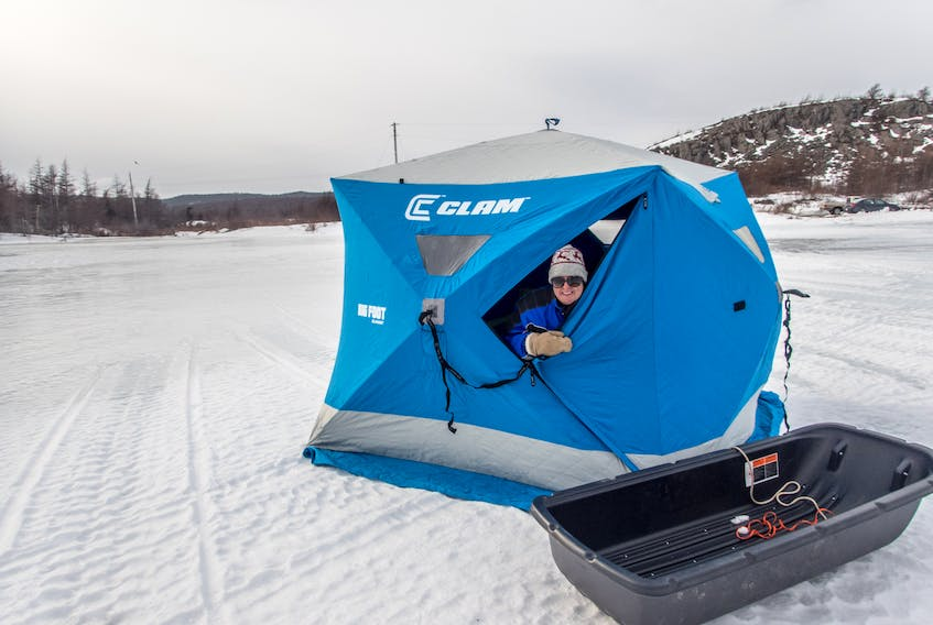 A larger pulk is fantastic for ice fishing.  — Paul Smith photo
