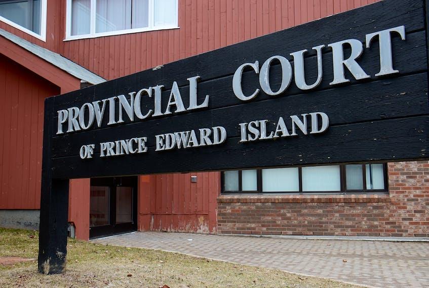 P.E.I. provincial court in Charlottetown.