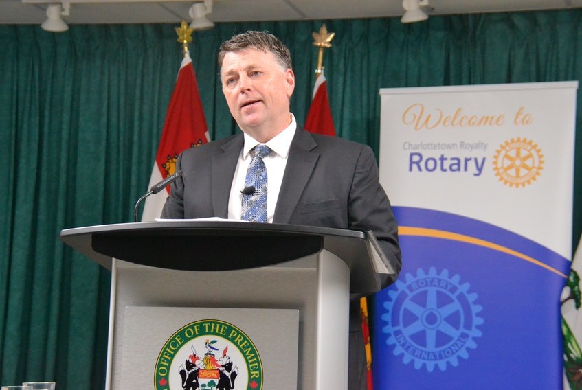 """P.E.I. Premier Dennis King confirmed the upcoming Provincial budget would involve a deficit but said it would have a """"much-improved target."""""""