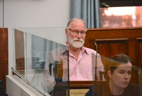Gary Schneider of the Coalition for the Protection of P.E.I. Water appears before a standing committee on Thursday. Schneider said lifting the moratorium on high capacity wells could have unintended consequences.