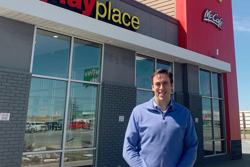 Cape Breton native Darrell Doucet recently became the owner of McDonald's restaurants in Ontario. He began his career with the International franchise as a cook in Sydney. CONTRIBUTED