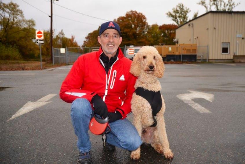 Scott Hennigar of Kentville with Argon.