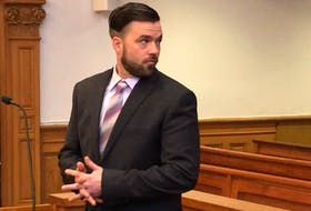 """Philip Butler has pleaded not guilty to a charge of second-degree murder for the death of his brother, George, in May 2018. On Wednesday, three witnesses testified Butler had confessed to killing his brother, who was described by another sibling as """"a man with no conscience."""" Tara Bradbury/The Telegram"""