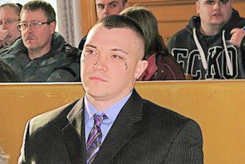 ['Telegram file photo<br />Philip Pynn is shown in court.']