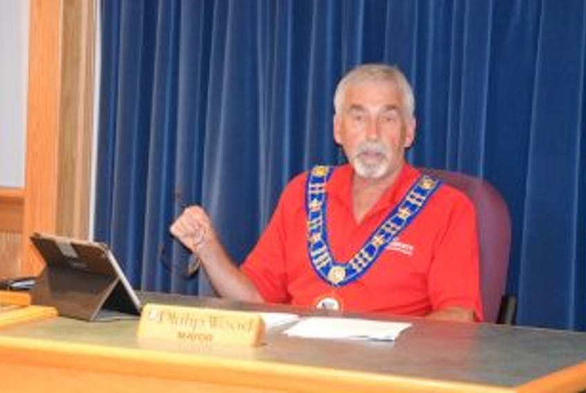 ['Bay Roberts Mayor Philip Wood.']