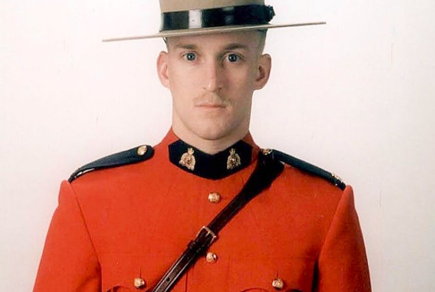 Const. Frank Deschenes was killed while on duty Sept. 13 when he stopped to help change a driver's tire.
