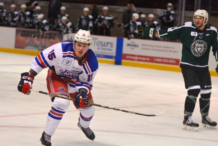 Summerside D. Alex MacDonald Ford Western Capitals' rookie forward Zach Thususka of Summerside was named the second star of Saturday night's MHL (Maritime Junior Hockey League) game. The Caps edged the Woodstock Slammers 3-2 at Eastlink Arena in Summerside.