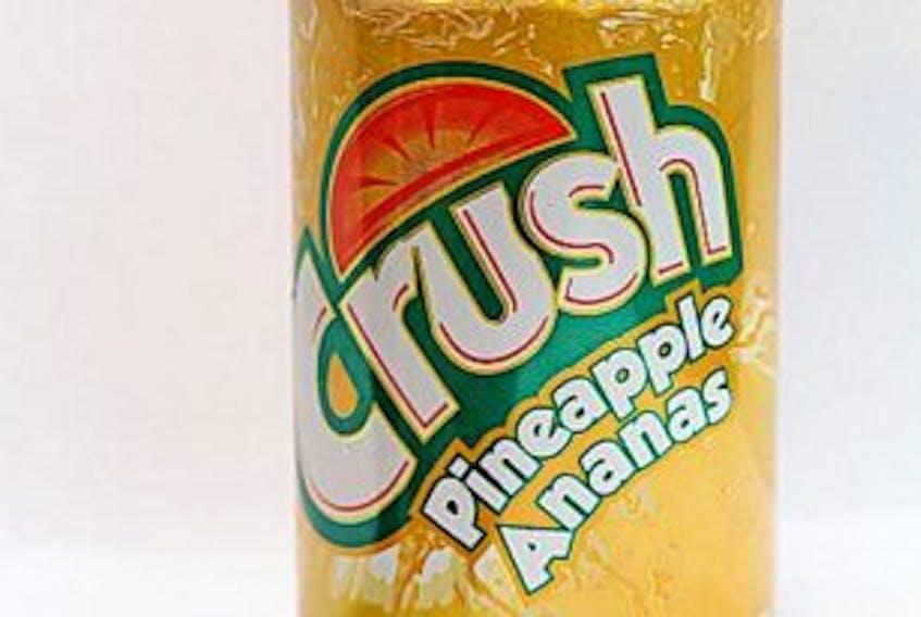 ['Pinapple Crush is still a strong seller for Browning Harvey Ltd. — Photo by Tara Bradbury/The Telegram']