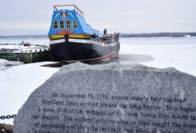 The Ship Hector will be lifted from the Pictou Harbour this spring ahead of some major upgrades. KEVIN ADSHADE/THE NEWS