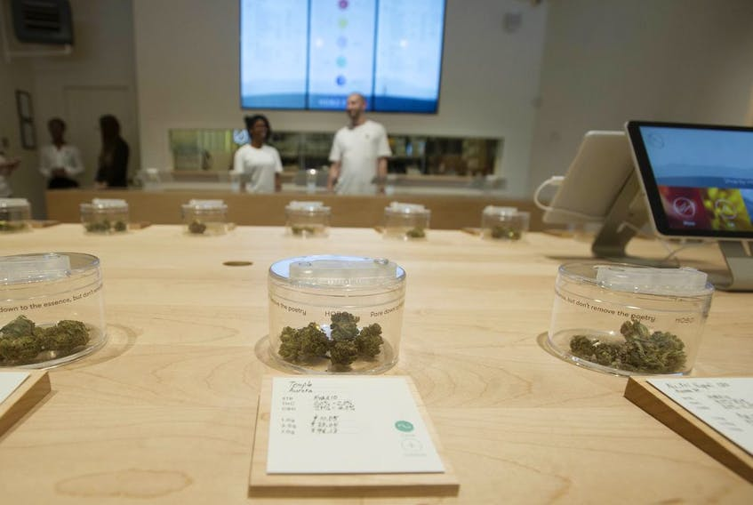 B.C. marijuana retailers can take reservations online, but you still have to physically go there and pay for your products.
