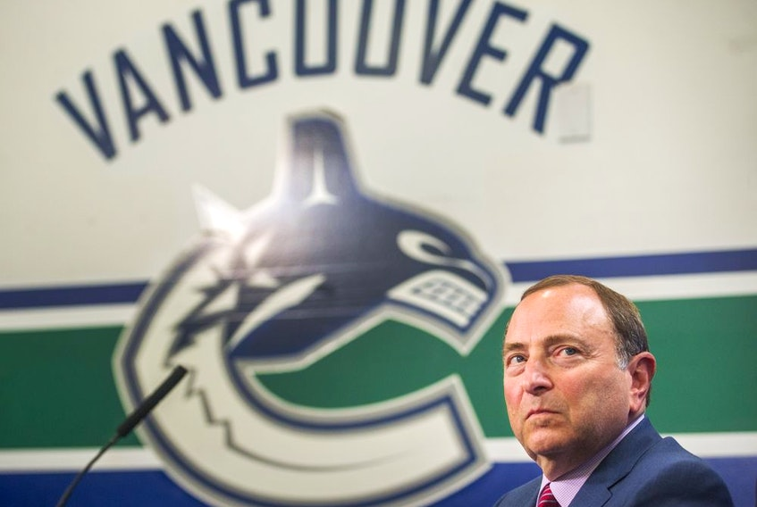 NHL Commissioner Gary Bettman, looking for a safe place to hold his Stanley Cup playoffs this summer, decided the COVID-19 protocols in Vancouver didn't suit his league's needs.