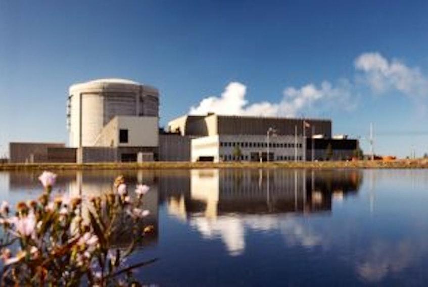 ['Point Lepreau nuclear power station']
