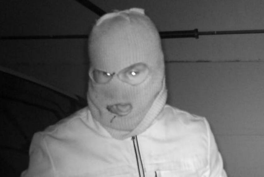 <span>n January, RCMP released this security camera photo of a man breaking into a home in the Stratford area.</span>