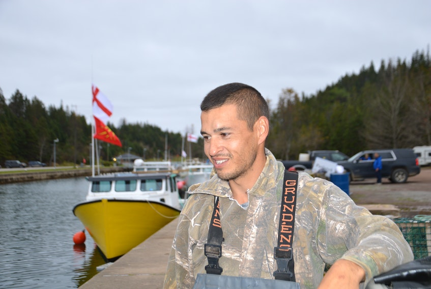 Craig Doucette estimates he's made about $8,000-$9,000 selling lobster since the launch of Potlotek's moderate livelihood, but he still senses a stigma from buyers purchasing his catch. OSCAR BAKER III/THE CAPE BRETON POST