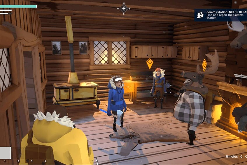 Video games like Other Ocean Interactive's Project Winter (pictured) are providing players a means to socially interact with one another during the time of COVID.