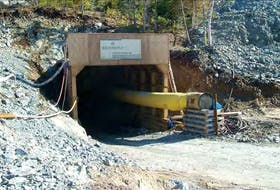 The proposed Hammerdown gold mine would be centred on the former Richmont Mines operation, which was decommissioned 15 years ago. — MARITIME RESOURCES CORP.