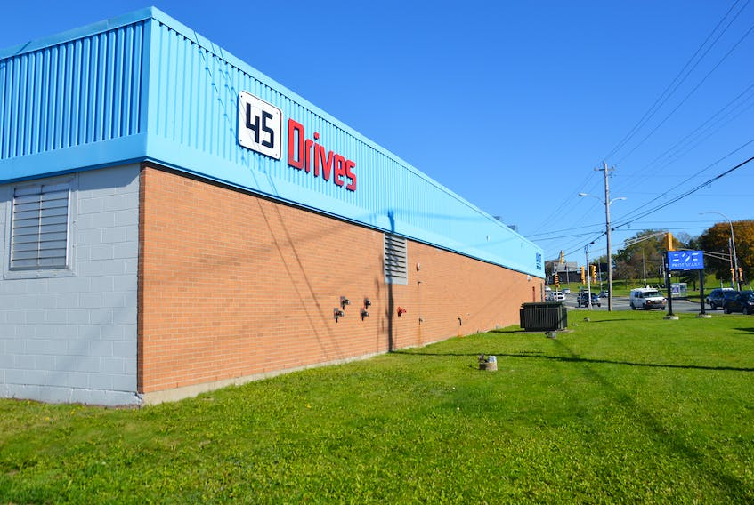 The federal government announced a repayable contribution of $1.3 million through the Atlantic Canada Opportunities Agency to Protocase for the construction of the new facility for its 45Drives division, which is located off Prince Street in Sydney. GREG MCNEIL • CAPE BRETON POST