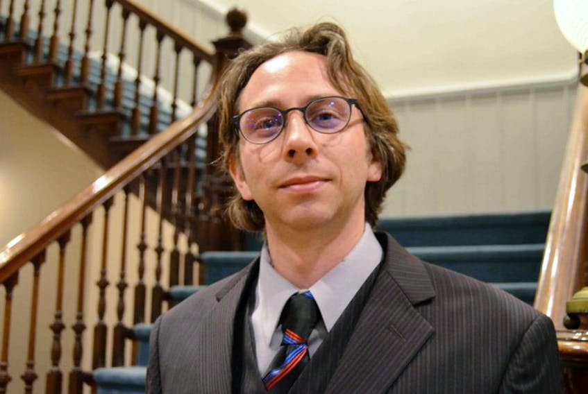 Trevor Bruhm is an independent candidate running in South Shore- St. Margaret's