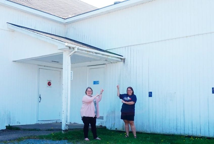 Jen Conrad and Jennifer Chase are active volunteers with the Liverpool Curling Club who have been working on organizing an open house scheduled to happen at 7 p.m. Sept. 23.