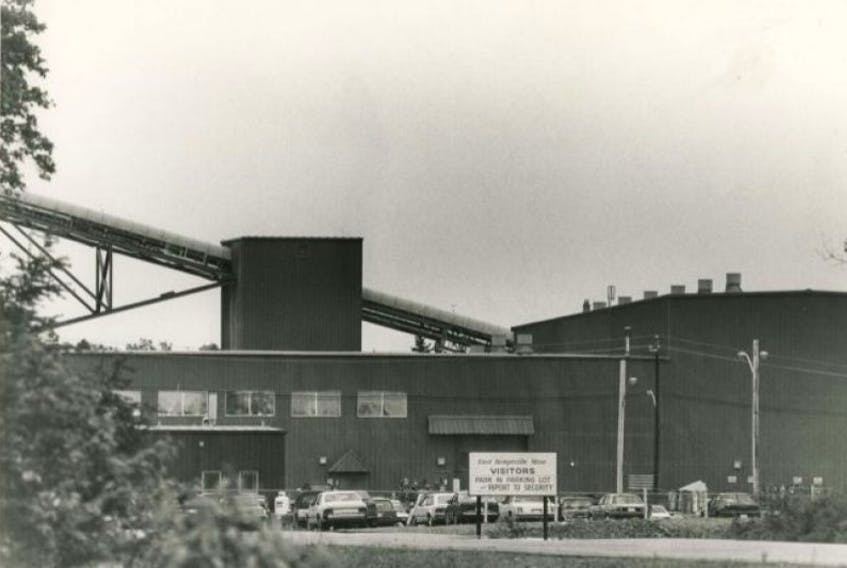 The East Kemptville Tin Mine as it appeared in the late 1980s.