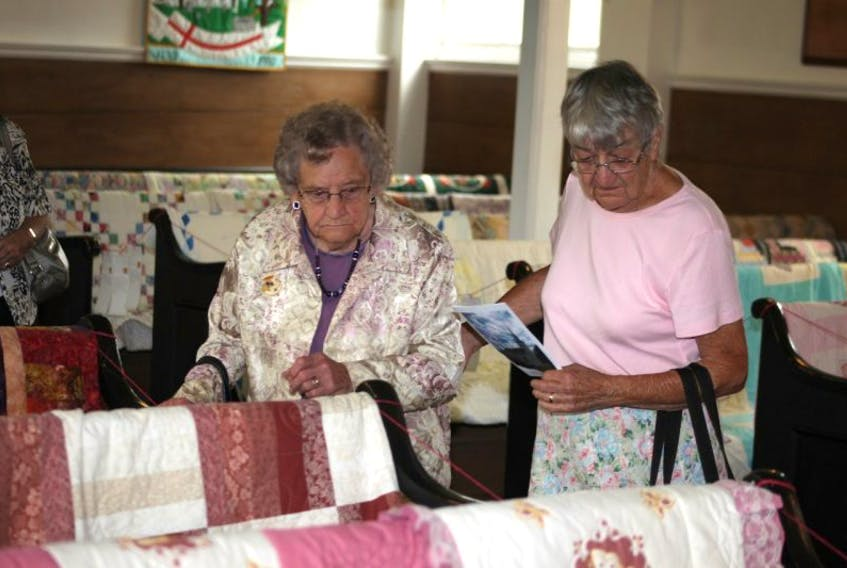 <p>St. Mary's Anglican Church was decked out with quilts of every description for the second annual Blessed are the Piecemakers quilt show recently. The show was another in the events being held throughout the year to mark the 225th anniversary of the historic church.</p>