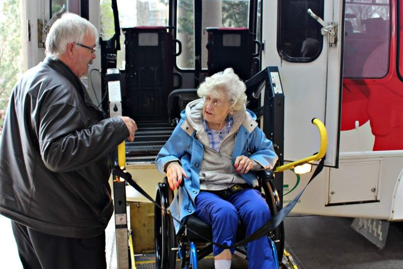The Windsor Senior Citizen Bus Society operates a non-profit bus service offering affordable and accessible transportation. - Contributed - Contributed