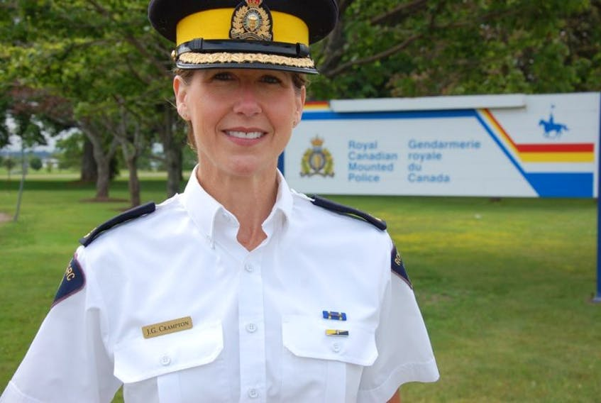 RCMP Chief Superintendent, Joanne Crampton, is a veteran police officer who knows all the priorities for Prince Edward Island