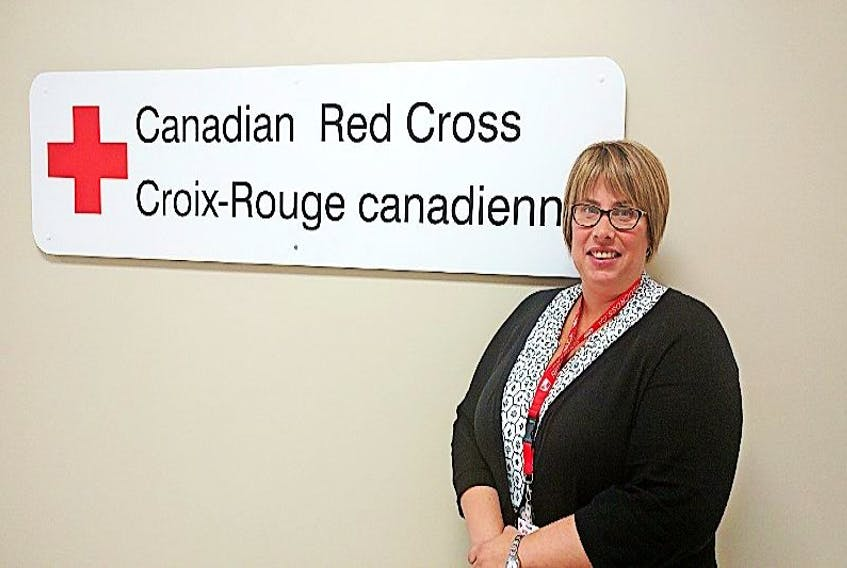 Angie Lohnes, service coordinator for the Canadian Red Cross centre in Amherst, is going to B.C. to aid wildfire relief efforts.