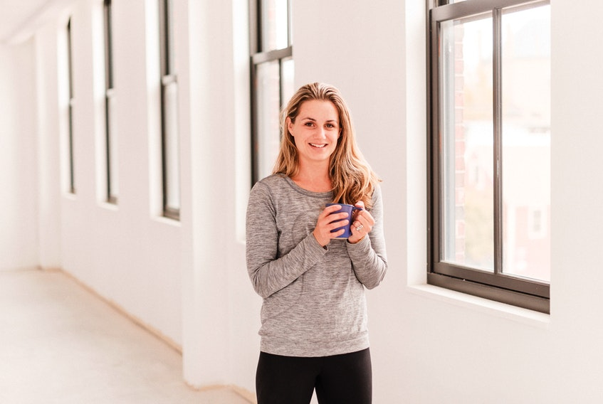 Tracey Gairns Brioux is the founder of Emyvale, P.E.I.-based Reset Breathe Fitness, a subscriber-based online fitness service and wellness community streaming live or on-demand workout classes daily.