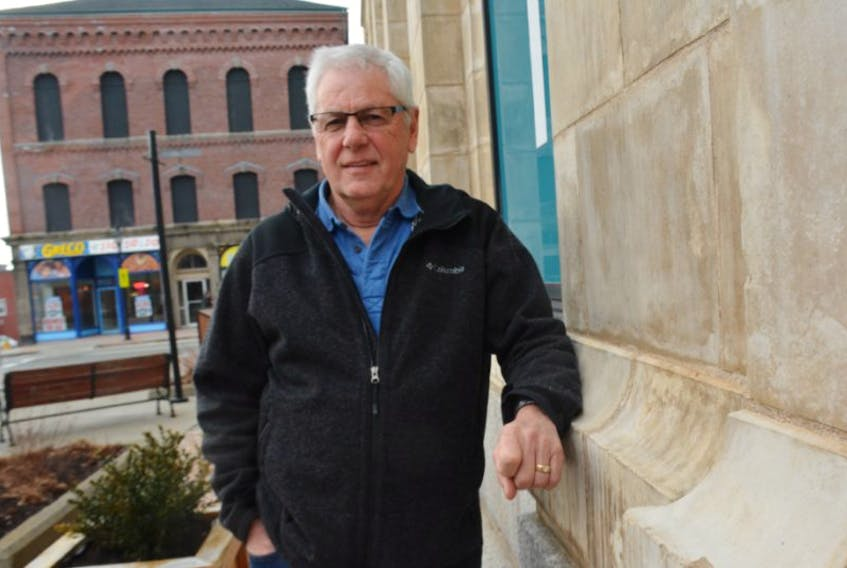 <p>Former Yarmouth MLA Richard Hurlburt says he's moved on from an MLA expense scandal. His focus these days is on his family and his community. TINA COMEAU PHOTO</p>