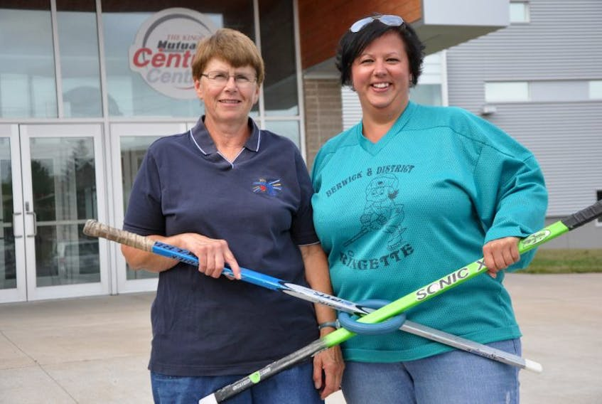 """<span lang=""""EN-US"""">Finding inspiration in their shared love of ringette, mother and daughter duo Marlene and Melissa Connell are key players when it comes to keeping the sport in Berwick. </span>"""