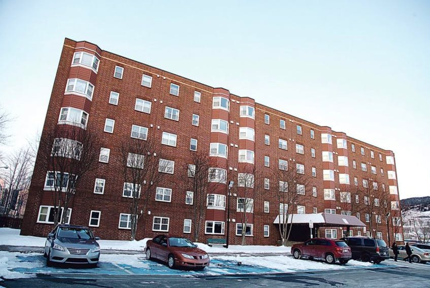 Riverhead Towers is one of the buildings the City of St. John's recently made smoke-free.