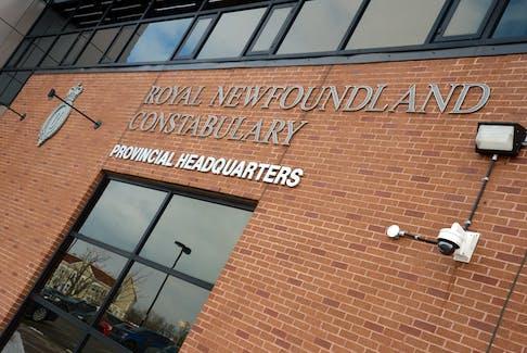 Royal Newfoundland Constabulary headquarters in St. John's. KEITH GOSSE/THE TELEGRAM