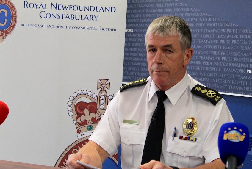 RNC Chief Joe Boland. TELEGRAM FILE PHOTO