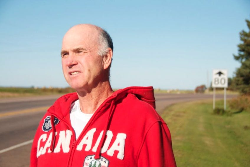 <p>Robert Campbell lives on Route 1A in Central Bedeque, near the intersection with Route 10 (Searletown Road) and he's asking for something to be done to make the route safer, given a recent fatality there, and several other serious incidents in recent years.&nbsp;</p>