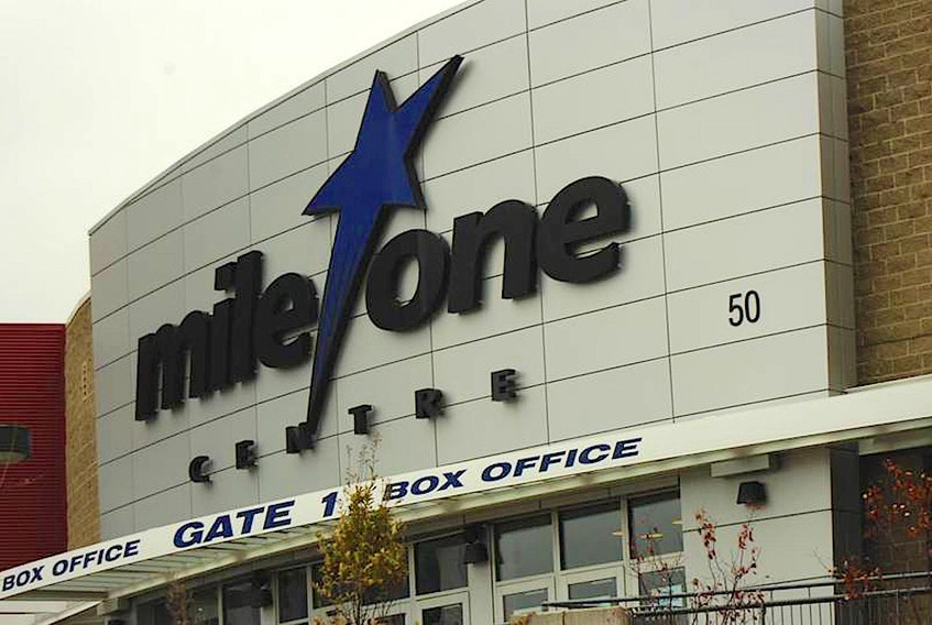 Mile One Centre in St. John's — File photo