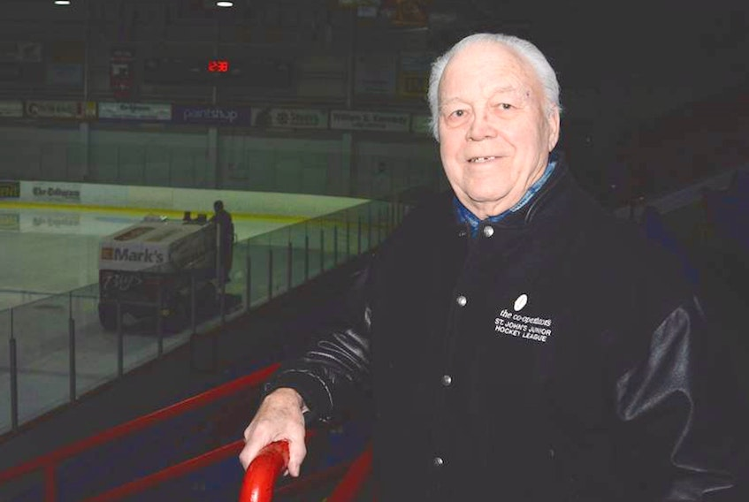 Mount Pearl's Gerry Taylor is one of the founding members of the St. John's Junior Hockey League as we know it today. – Telegram file photo