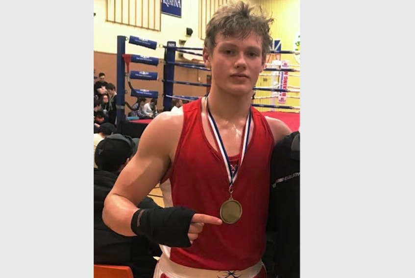 St. John's boxer Seamus O'Brien will join the Crandall Chargers boxing team at Crandall University in Moncton this fall